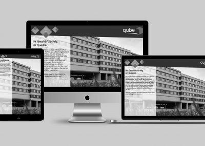 Homepage Qube Muttenz