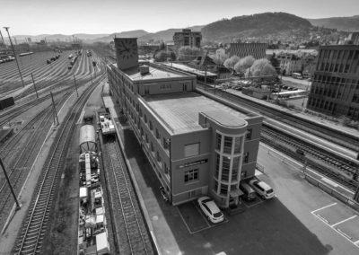 Luftaufnahmen in Muttenz, SBB Immobilien