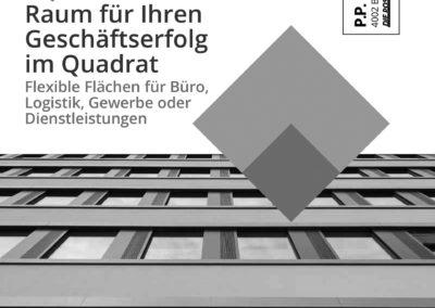 Mailing Gewerbehaus qube