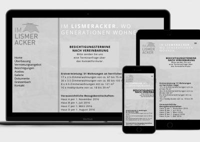 Homepage Im Lismeracker, Gretzenbach