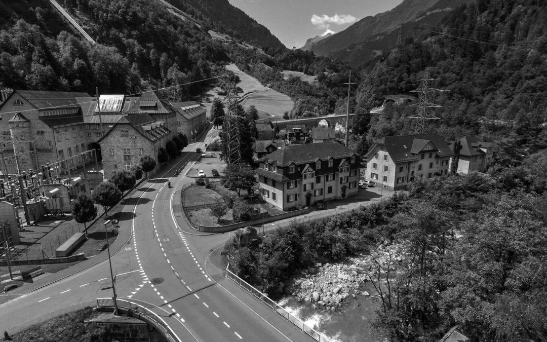 Luftaufnahmen in Silenen, SBB Immobilien